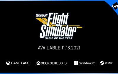 Microsoft Flight Simulator GOTY Edition announced