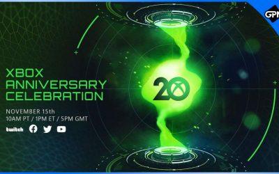 Xbox Anniversary Celebration announced